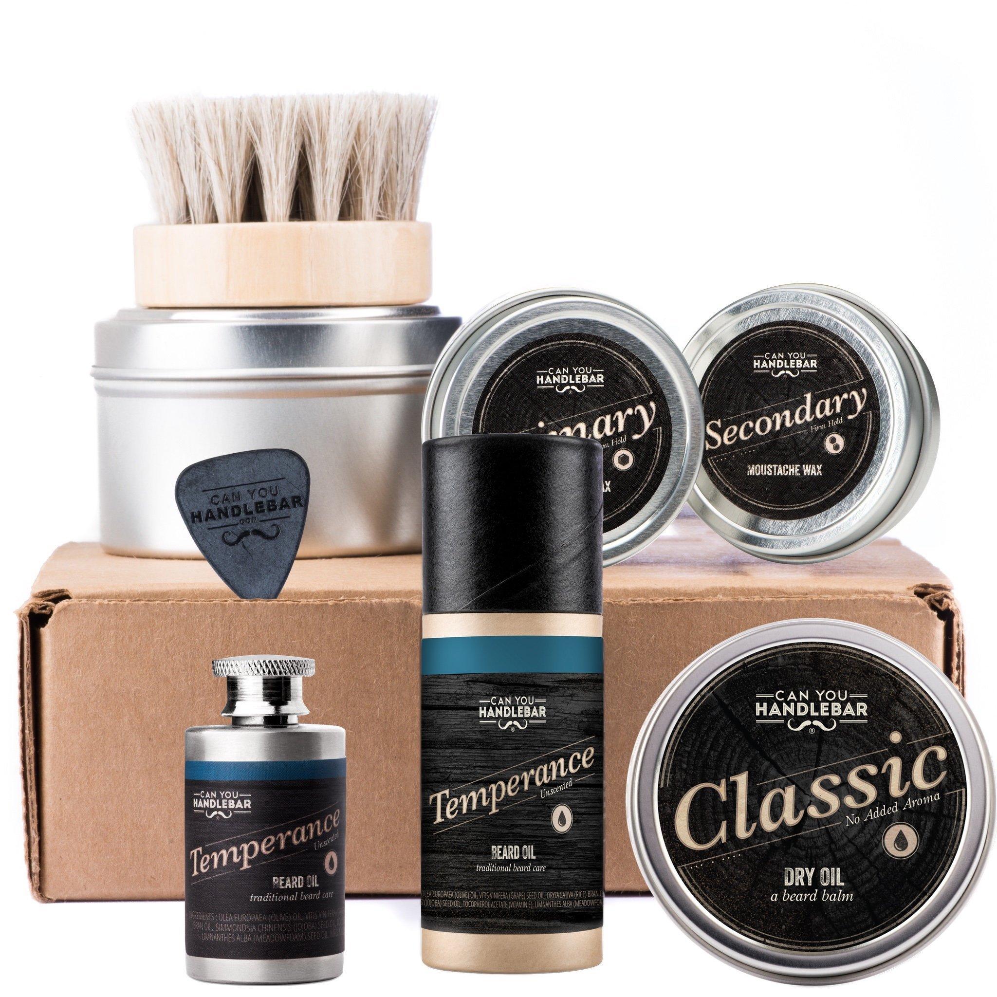 CanYouHandlebar Ultimate Beard Care Kit : Temperance - Unscented