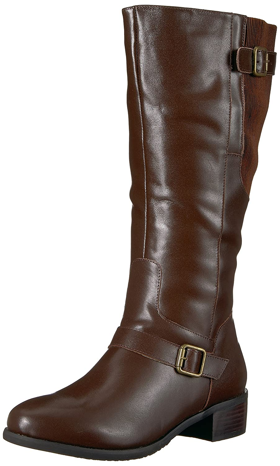 Propet Women's Teagan Riding Boot B06XRN4VFG 11 2E US|Brown