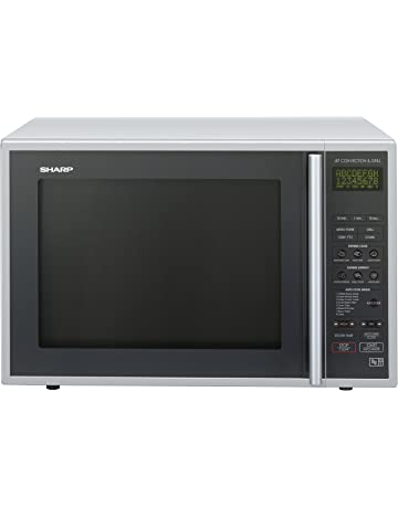 Sharp R959SLMAA Combination Microwave, 40 Litre, 900 Watt, Silver