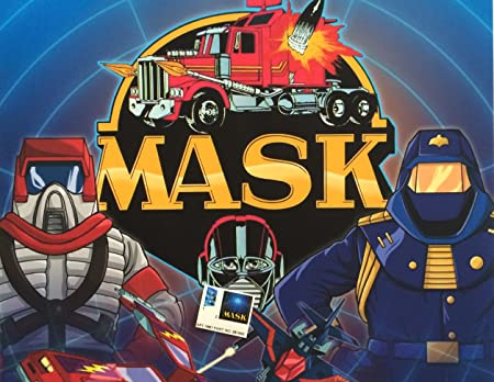 BONUS MASK stickers for KENNER M.A.S.K DYNAMO Personalized