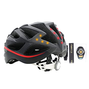 LIVALL BH62-R Casco Inteligente Seguridad Ciclistas, Unisex, Rojo y Negro, Medium