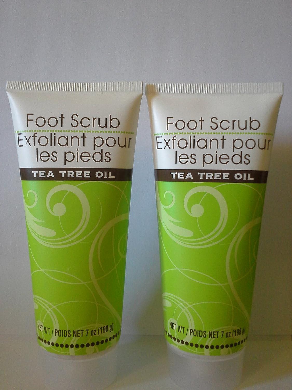 Amazon.com: Foot Scrub with Tea Tree Oil (Two Pack): Health ...