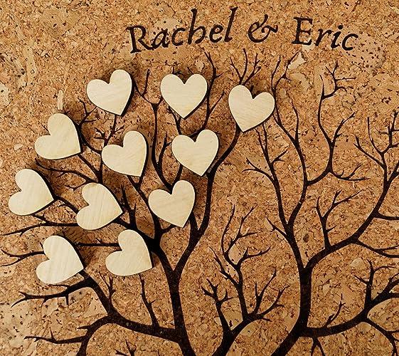 Wedding Guest Book Alternative Rustic Album