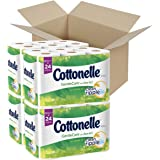 Cottonelle GentleCare with Aloe & Vitamin E Double Roll Toilet Paper, Bath Tissue, 12 Count (Pack of 4)