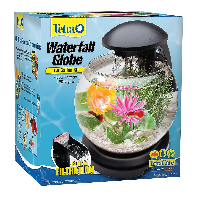 Tetra Waterfall Globe Aquarium Amazon Pet Supplies