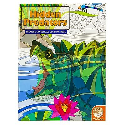 MindWare Hidden Predators Creature Camouflage Coloring Book: Toys & Games