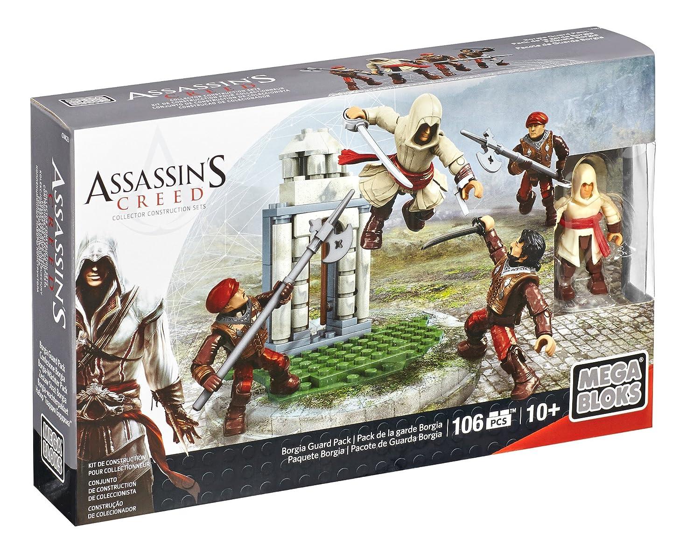 Mega Bloks Assassins Creed Borgia Guard Pack Mattel CNK23