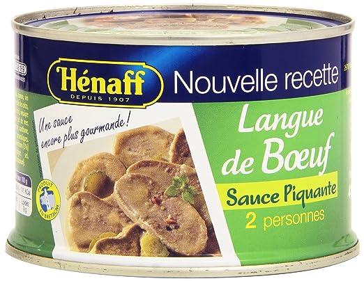 Langue de Boeuf Sauce Piquante