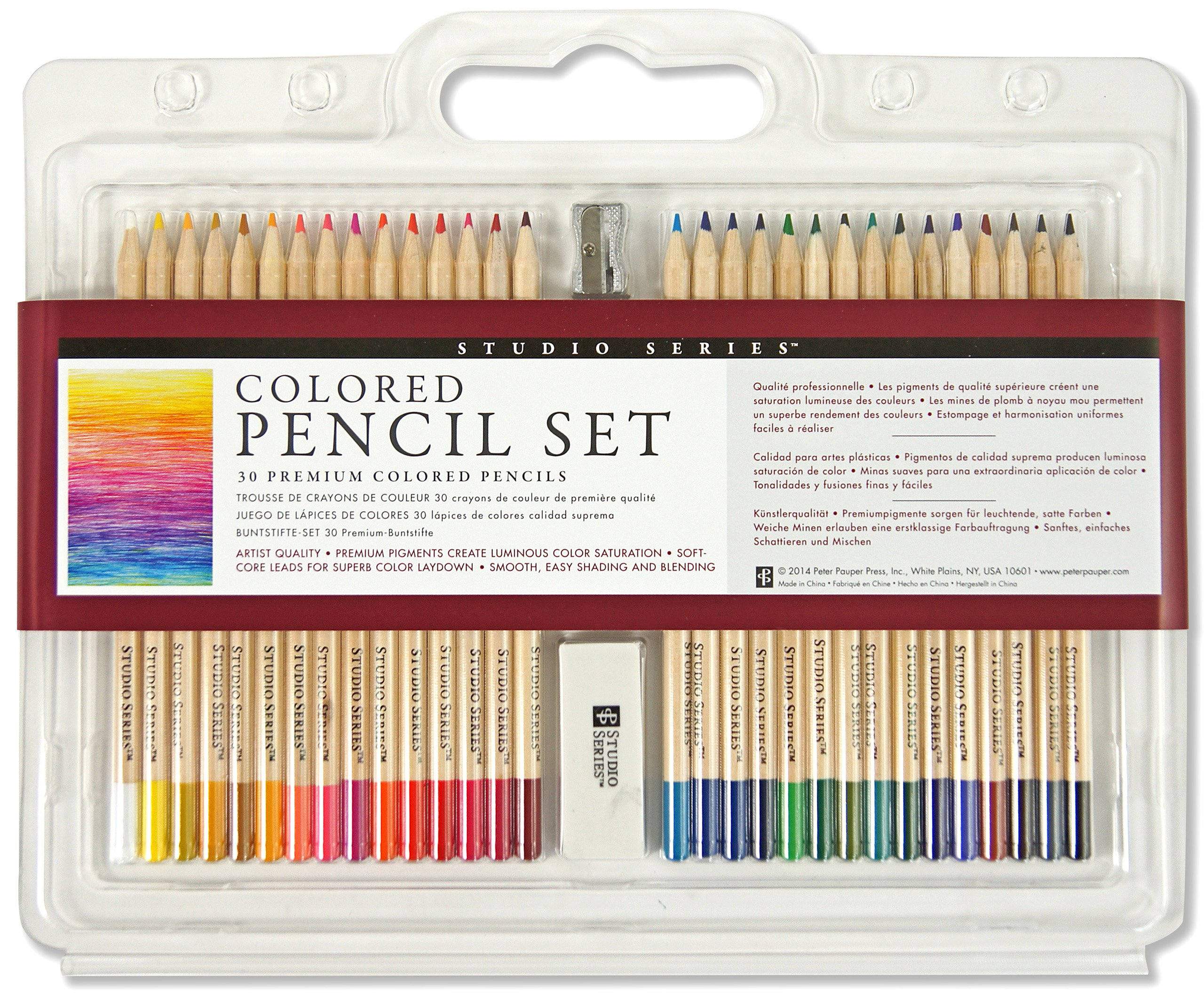 Studio Colored Pencil Set Multilingual product image
