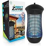 Livin' Well Electric Bug Zapper - 4000V Insect Zapper Mosquito Trap 18W UVA Bug Zapper Outdoor Indoor Light Steel Grid Mosquito Killer Trap