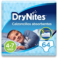 DryNites - Calzoncillos absorbentes para niño - 4-7