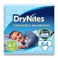 DryNites - Calzoncillos absorbentes para niño - 4-7 años (17-30 kg
