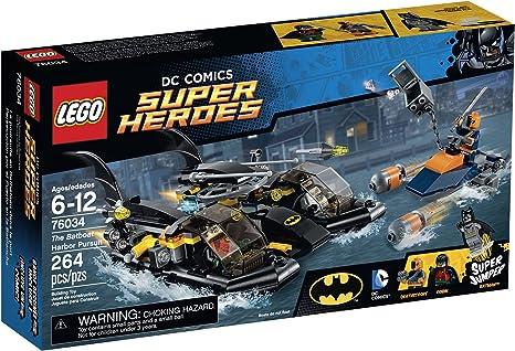 LEGO Batboat Harbor Pursuit Building Kit