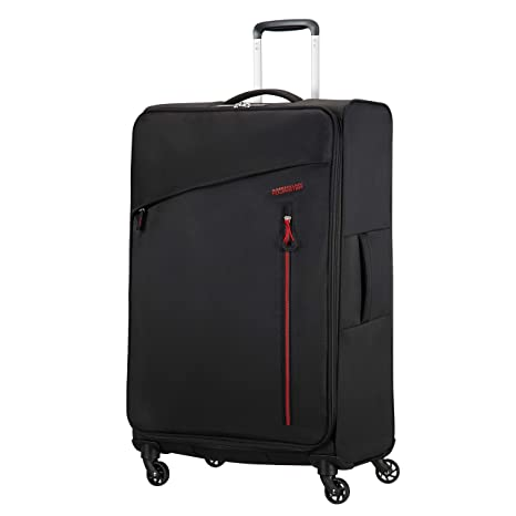 1fd3df7245 American Tourister Litewing Spinner Large Luggage, Volcanic Black, Checked  – Large (Model: 89460-0662): Amazon.ca: Luggage & Bags