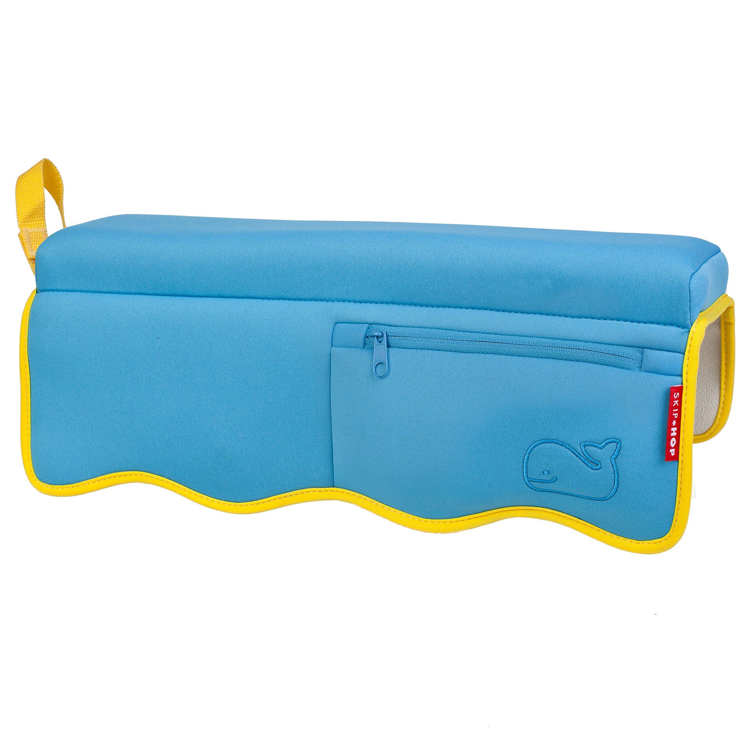 Skip Hop Moby Baby Bath Set, Four Bathtime Essentials - Spout Cover, Bath Kneeler, Elbow Pad, And Bath Mat, Blue by Skip Hop (Image #7)