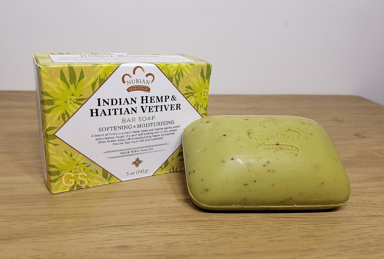 Bar Soap, Indian Hemp, 5 oz ( Double Pack)