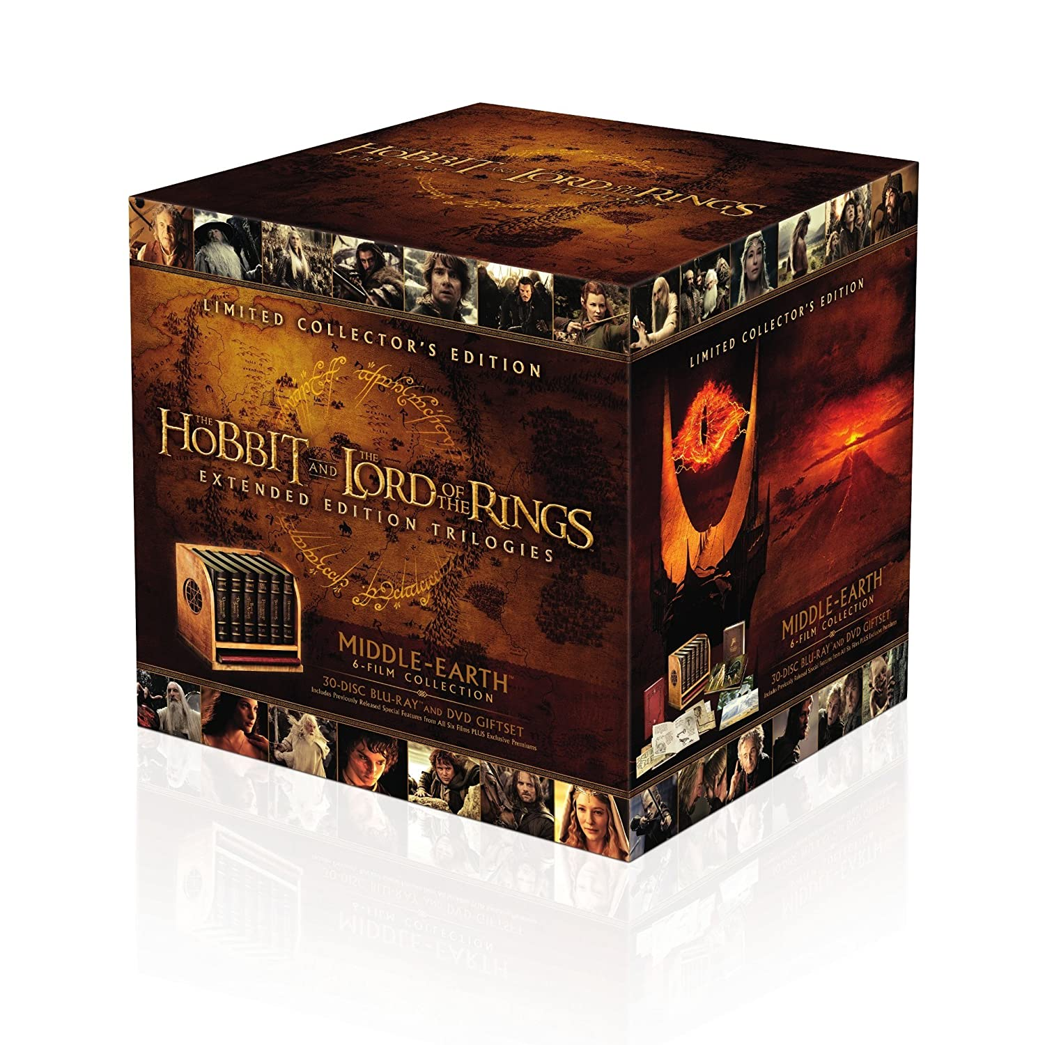 Middle-earth Limited Collectors Edition Blu-ray + DVD: Amazon.es ...