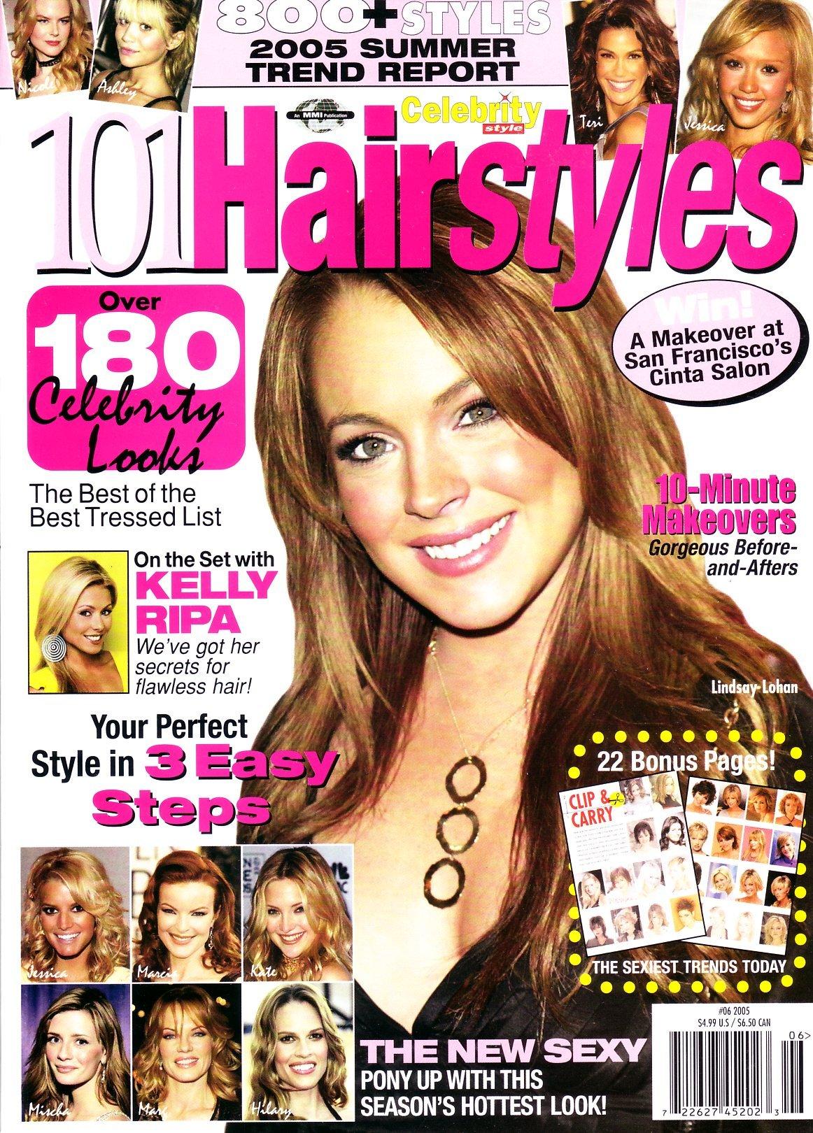101 Hairstyles 06 2005 Lindsay Lohan Karen Marie Shelton Cheryl Crosby Cheryl Crosby 0632687706991 Amazon Com Books