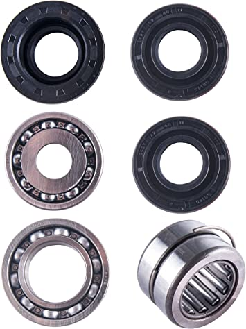East Lake Axle Front cv axles /& differential seal kit compatible with Honda Foreman 450 TRX 2002 2003 2004