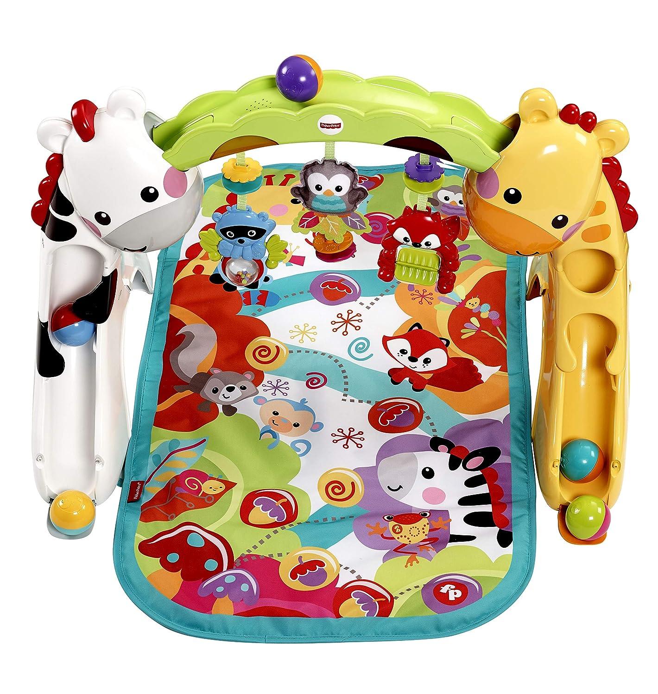 ddb6be4af Fisher-Price Gimnasio crece conmigo, manta de juego para bebé (Mattel  CCB70): Amazon.es: Juguetes y juegos