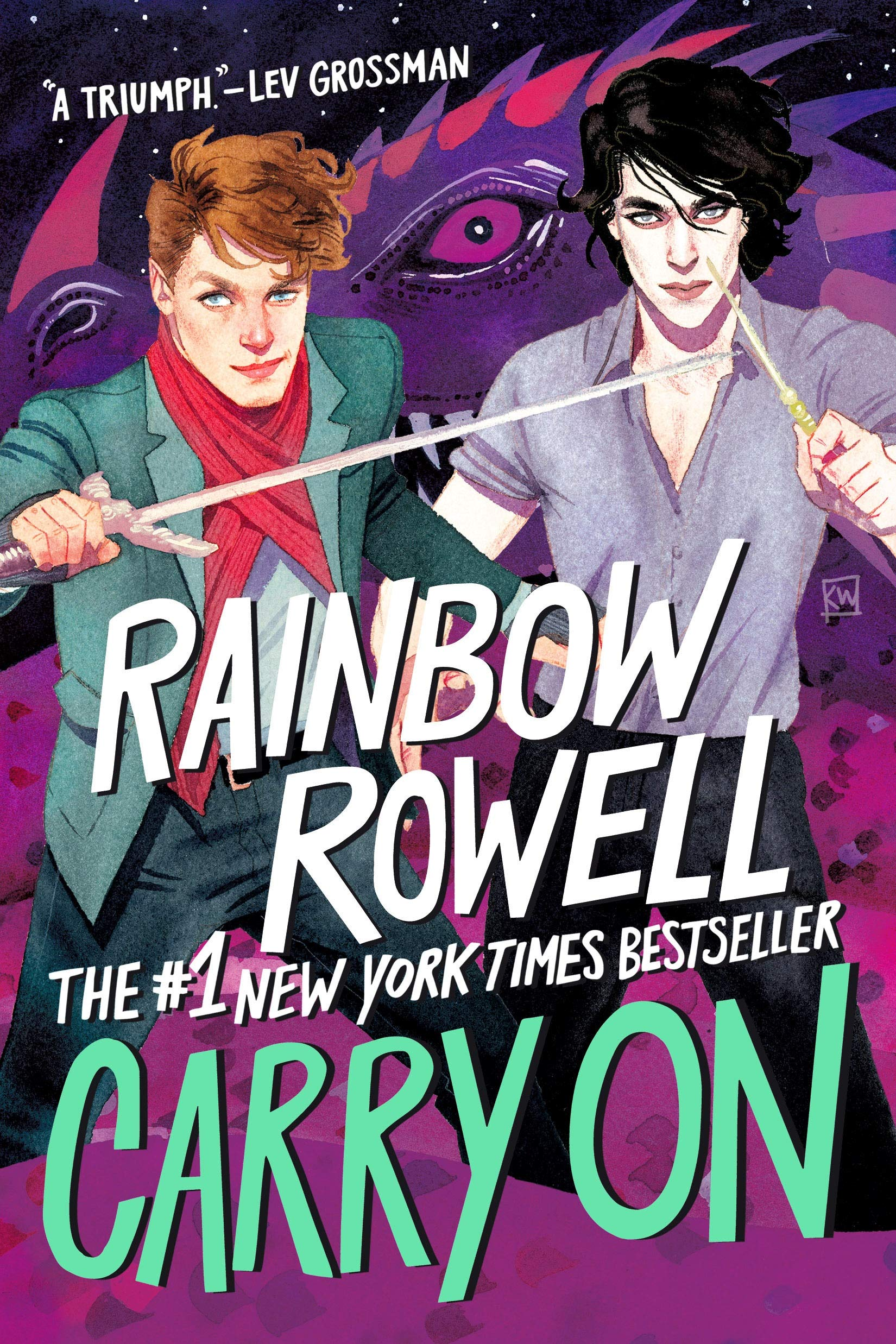 Amazon.com: Carry On (Simon Snow Series, 1) (9781250135025): Rowell, Rainbow:  Books