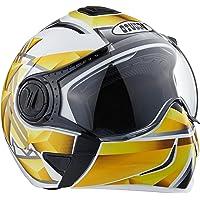 Studds Full Face Helmet Downtown D3 (White N4, M)