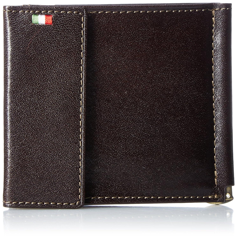 [ミラグロ] 財布 マネークリップ 札ばさみ 小銭入れ タンポナートレザーシリーズ CA-S-2166 B01GO4EH36 チョコ チョコ