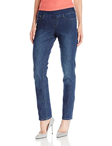 Jag Women's Peri Pull-On Straight Leg Jeans
