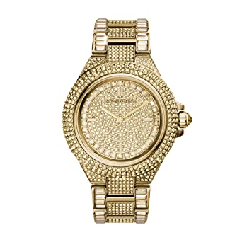 6729ef232dc2 Amazon.com  Michael Kors Women s Camille Gold-Tone Watch MK5720 ...
