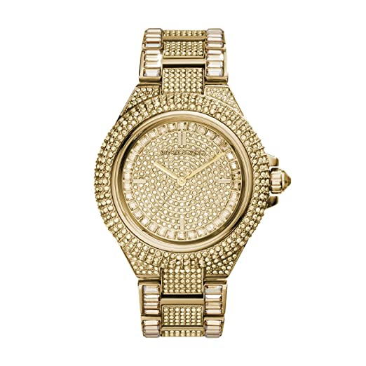 6a20b3ad2269 Amazon.com  Michael Kors Women s Camille Gold-Tone Watch MK5720  Michael  Kors  Watches