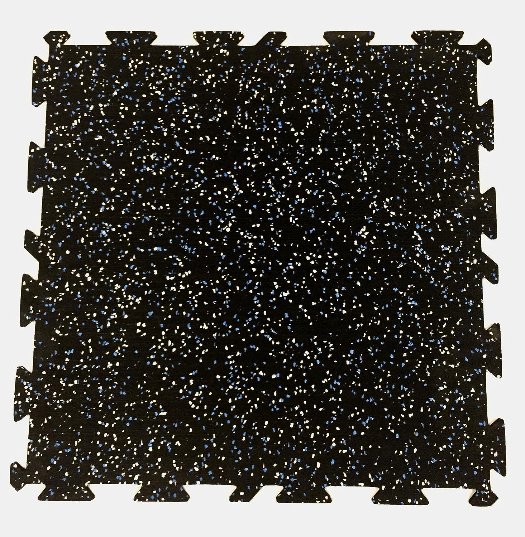 2 X 2 X 5//16-8 Tiles//Pack /… Total 32 sq ft Coverage Commercial Grade Gator Interlocking Rubber Flooring Tiles