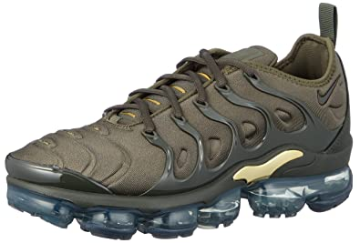 a4acb16b2909f NIKE Air Vapormax Plus, Chaussures de Fitness Homme, Multicolore (Cargo  Khaki Sequoia