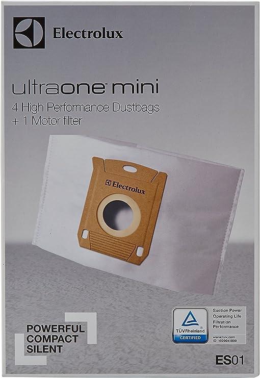 Electrolux ES01 - Bolsa aspirador Ultraone Mini (4 bolsas + 1 ...