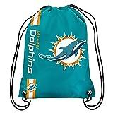 NFL Miami Dolphins Big Logo Drawstring Backpack