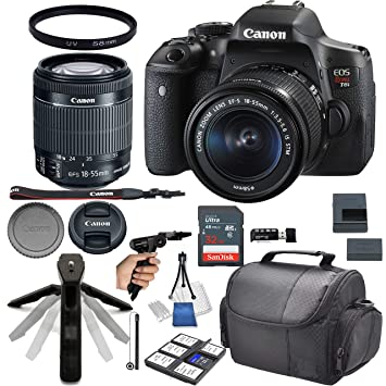 Buy Canon Eos Rebel T6i Dslr Camera With 18 55mm F 3 5 5 6