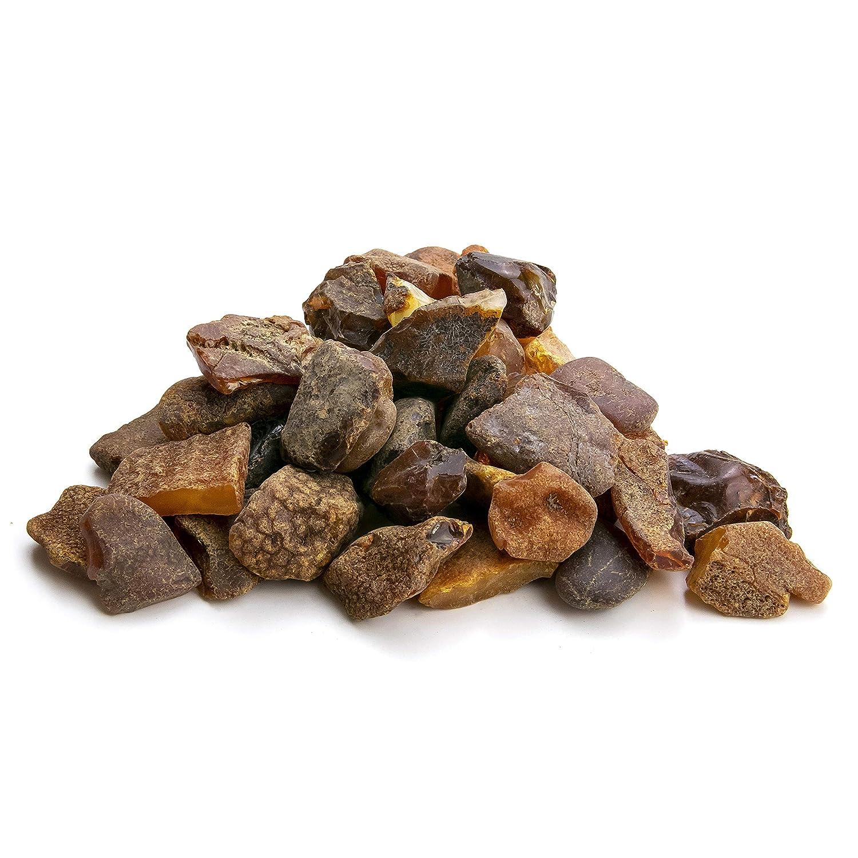resina de /ámbar b/áltico aut/éntica y natural Piedras de /ámbar en bruto de Amber Culture Lote aleatorio