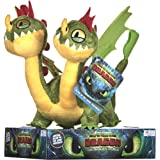 Posh Paws 12436 How to Train Your Dragon 3 Barf and Belch Soft Toy-32cm, Multi-Colour, 32 cm