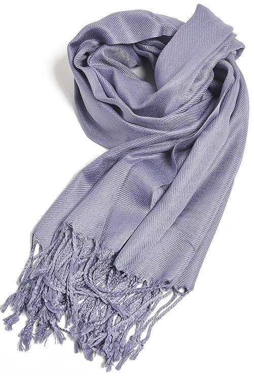 Amazon.com: Chales y pañuelos y bufandas Pashmina de alta ...