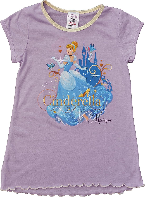 Disney Girls Cinderella Nightie Nightdress Sizes 2-3, 3-4, 5-6, 7-8 Years