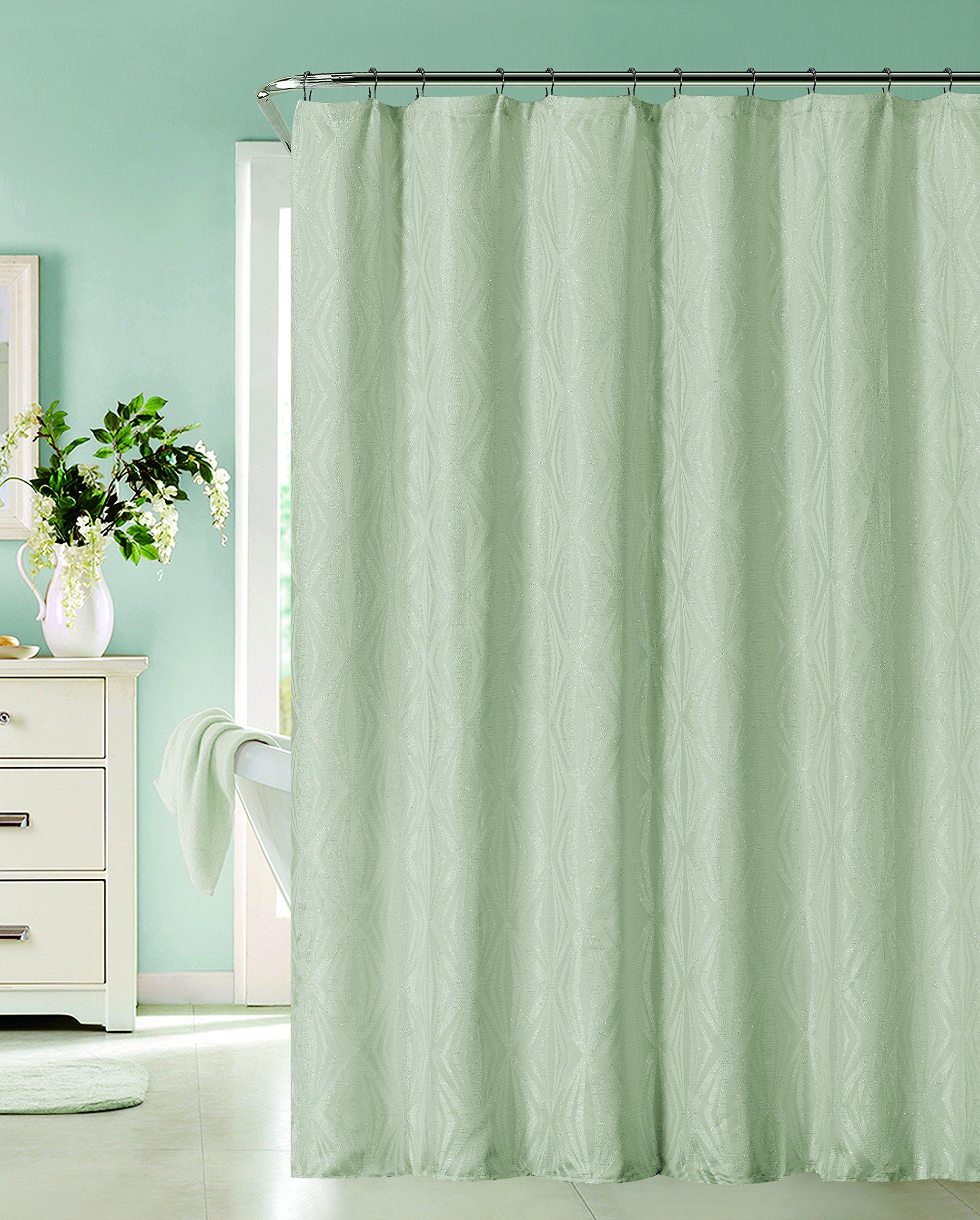 Dainty Home Romance Shower Curtain, Spa