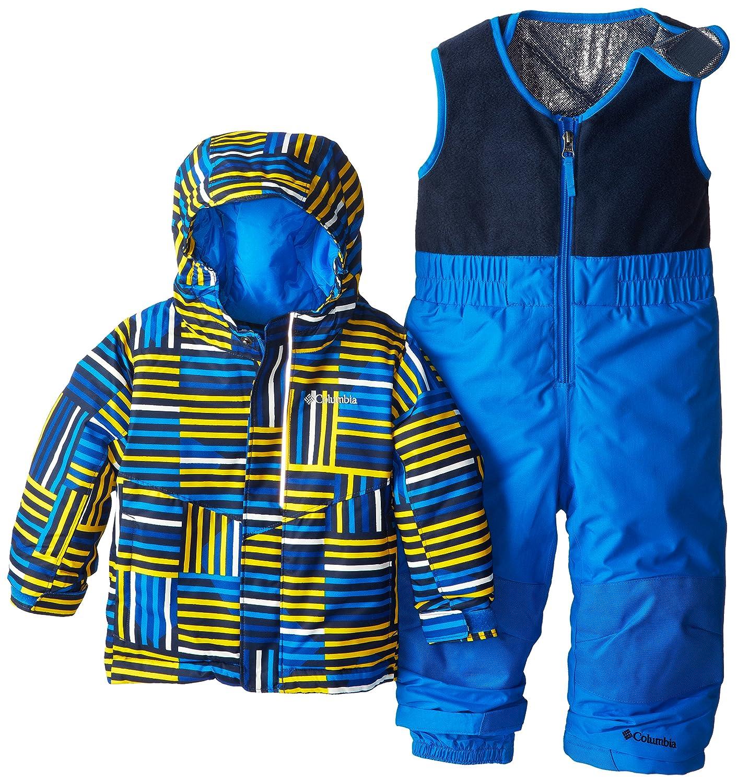 Columbia Buga Set Boys Ski Bib Hyper Blue boys Buga Set Hyper