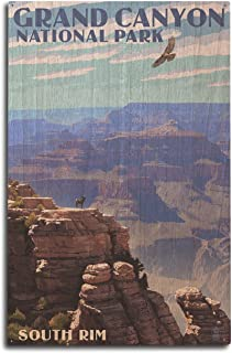 product image for Lantern Press Grand Canyon National Park, Arizona - South Rim (10x15 Wood Wall Sign, Wall Decor Ready to Hang)