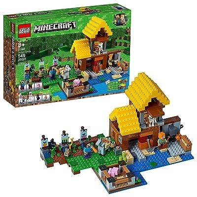 LEGO Minecraft The Farm Cottage 21144 Building Kit (549 Piece): Toys & Games