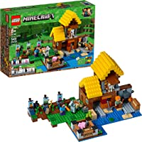 Lego Minecraft The Farm Cottage Building Kit , 549-Pcs.