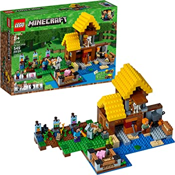 549-P Minecraft The Farm Cottage Building Kit