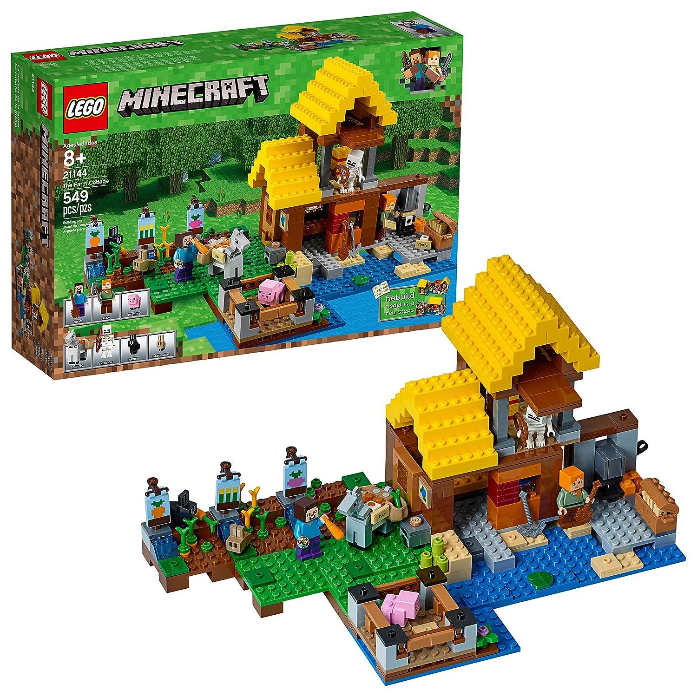 LEGO Minecraft The Farm Cottage 21144 Building Kit (549 Piece) 6212500