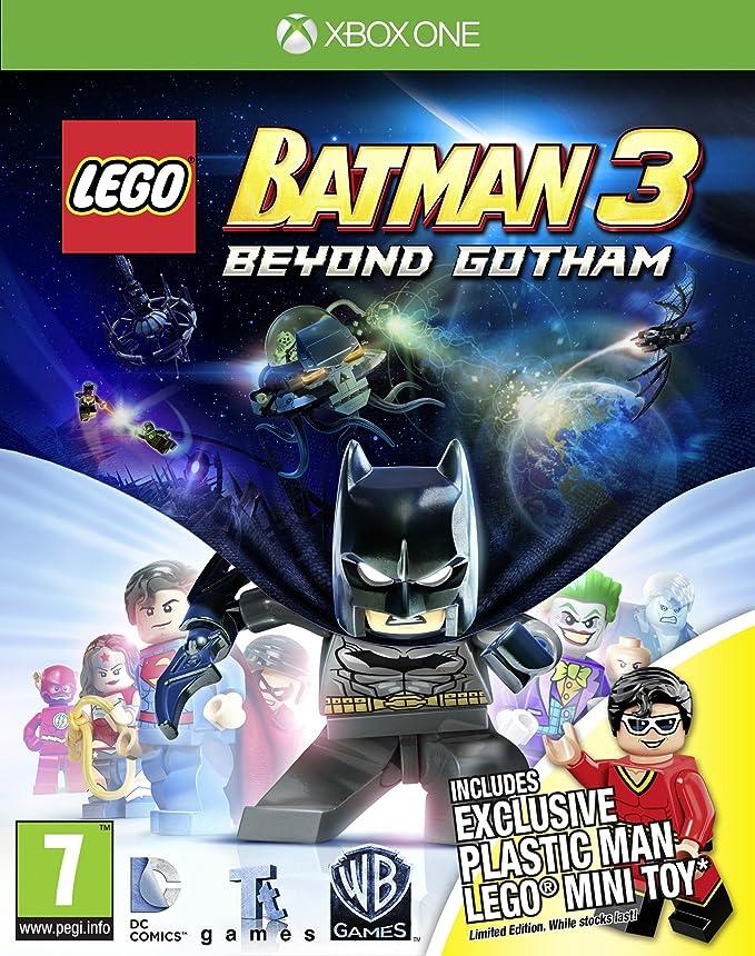 LEGO Batman 3: Beyond Gotham Plastic Man Minitoy Edition (Xbox One ...