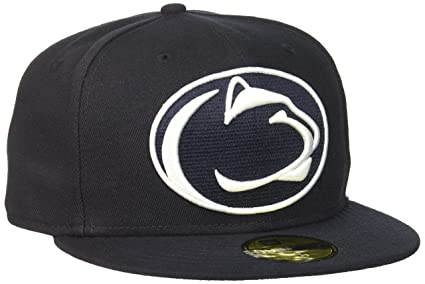 the best attitude b4c99 e407d Image Unavailable. Image not available for. Colour  NCAA Penn State Nittany  Lions Logo Grand Fitted 59Fifty Cap ...