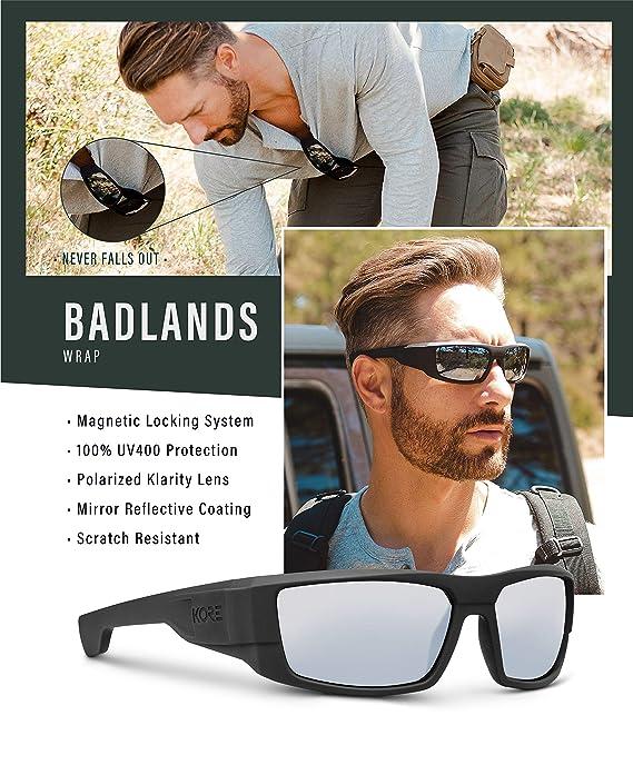 Amazon.com: Kore - Gafas de sol magnéticas con cierre ...
