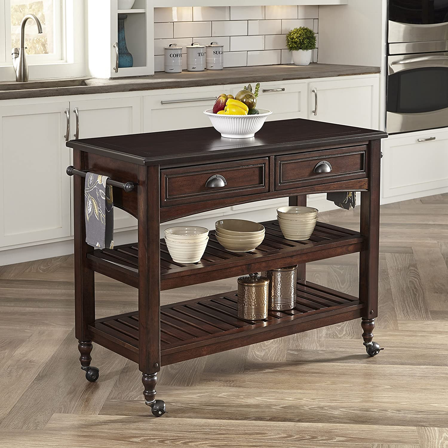 Amazon Home Styles 5522 9501 Country fort Kitchen Cart